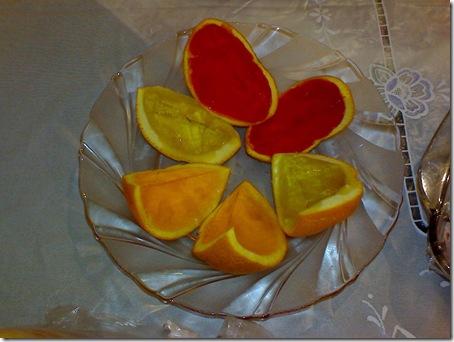 ژله در پوست پرتقال