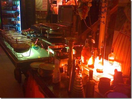 سفره خانه سنتی آبان -  میز سالاد اردو