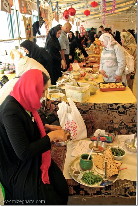 بازار غذای سیب زمینی