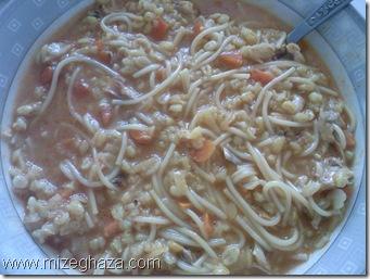 سوپ جو ( بارشته