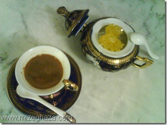 چای سبز با عسل