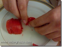 گوجه فرنگی خرد شده