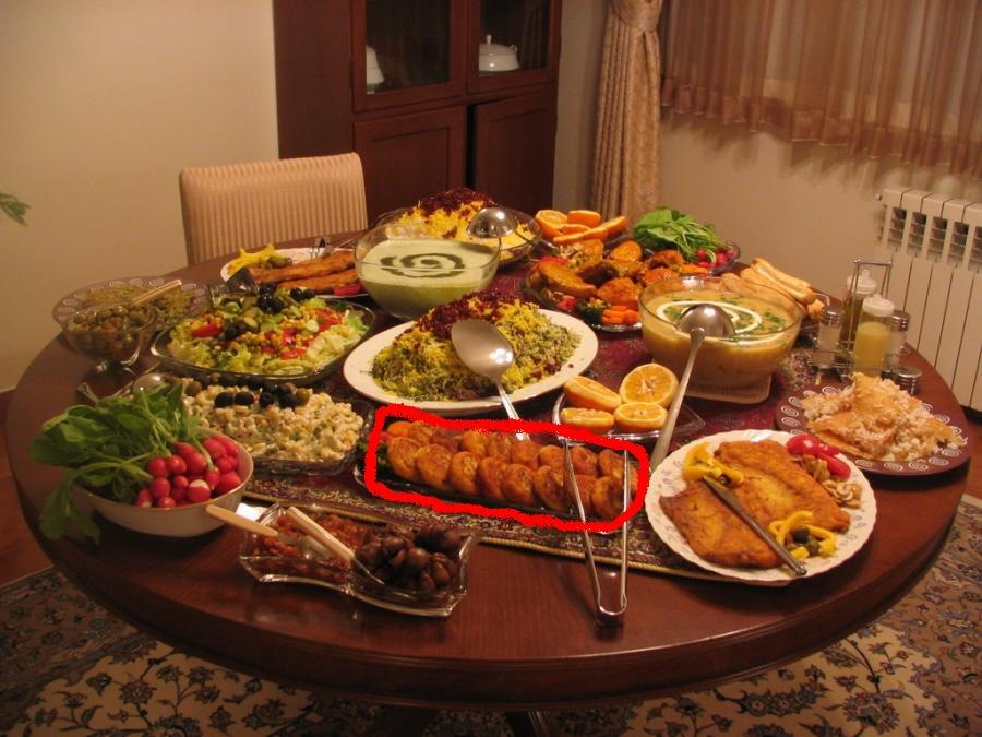 تزئینات میز شام http://www.mizeghaza.com/1387/05/20/whats_this_food/