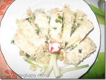 رولت نون و پنیر و سبزی