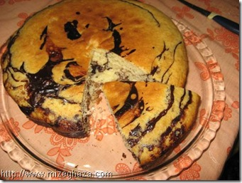 کیک گردو و زنجبیل
