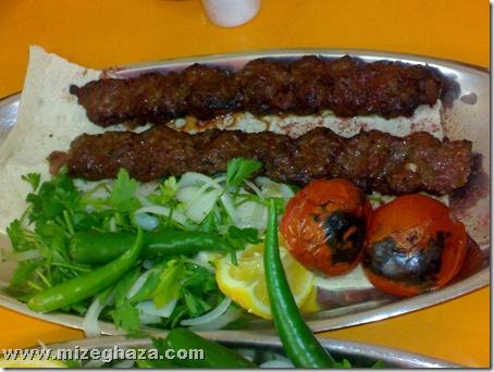 کباب کوبیده - کباب سرای حاج حسین